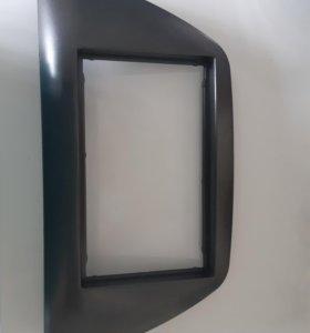 Рамка магнитолы на лансер 9