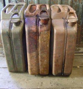 Стальные канистры 20 литров