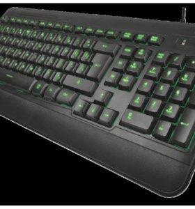 Trust Elight LED Illuminated Keyboard Black USB