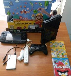 Nintendo Wii U Premium 32 Gb, шитая, комплект