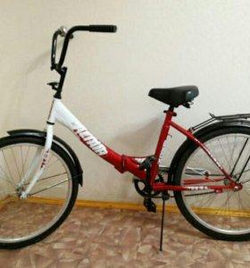 Новый складной велосипед Альтаир