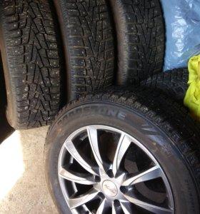 Комлект колёс r17+резина