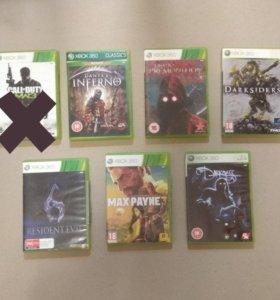 Лицензионные игры для Xbox 360