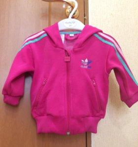 Adidas кофточка для девочки