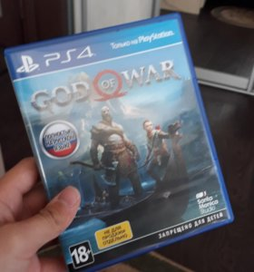 God of war 4 для ps4