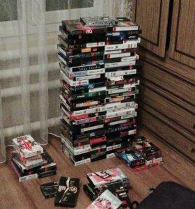 Касеты с фильмами 139 штук