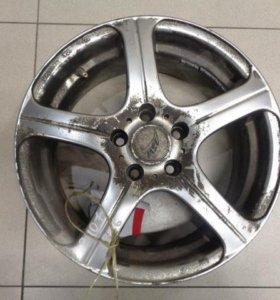 16 диск колесный литой  Пежо 407 2004-2010.