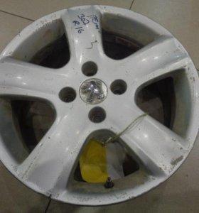 16 диск колесный литой  Пежо 307 2001-2007.