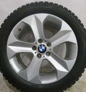 Комплект оригинальных колес R19 бмв X6 X5 зима