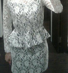 Красивый ажурный костюм