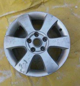 Диск колесный легкосплавный Skoda Octavia (A5 1Z-)