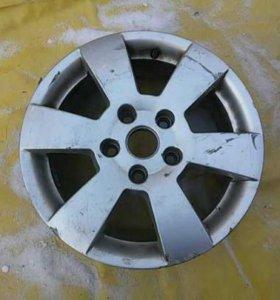 Диск колесный легкосплавный Skoda Fabia II