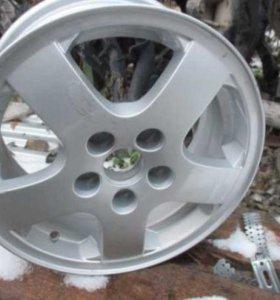 Диск колесный легкосплавный Skoda Fabia I