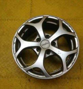 Диск колесный легкосплавный Renault Fluence