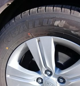 Летние шины Sailun в идеальном состоянии, 4 шт.