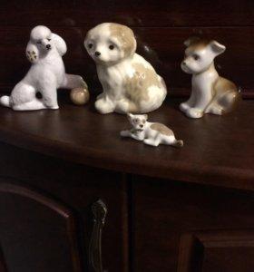Статуэтки собак, коллекция