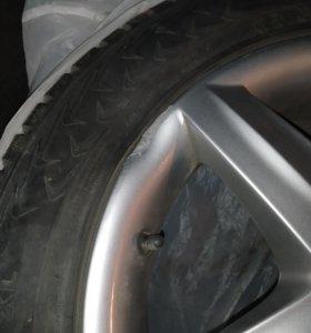 R16 5*112 оригинальные литые диски ауди-фольксваге
