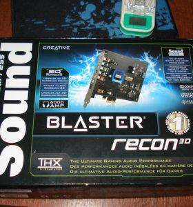 Звуковая карта PCI-E Sound Blaster Recon3D
