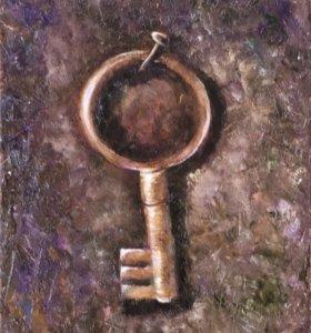 Картина маслом. Ключ.