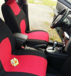 Новые чехлы на сиденья авто