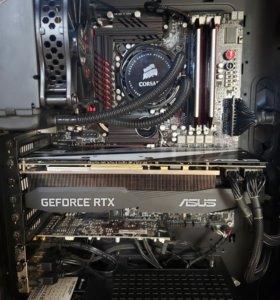 ASUS ROG ME-Z+i7 2700K+16Gb Corsair DDR3+СВО H70