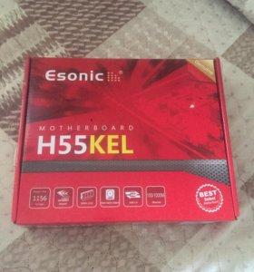 Материнская плата Esonic H55KEL новая