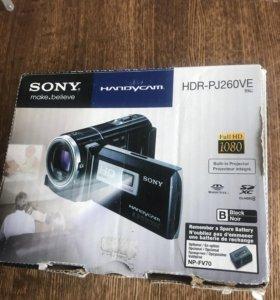 Видеокамера Sony HDR-PJ260VE с проектором