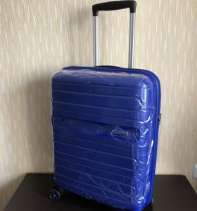 Чемодан American Tourister Sunside S синий