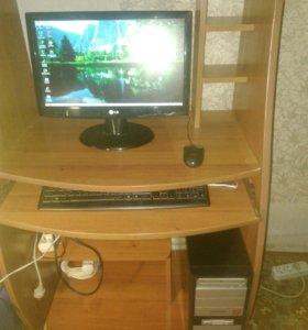 Компьютер не для игр, с монитором