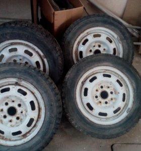 колеса в сборе М-- 2141