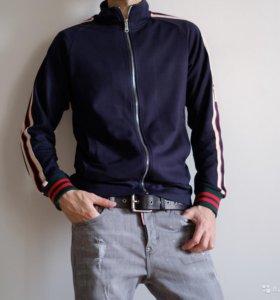 Эластичная кофта с полосками и брюки Gucci
