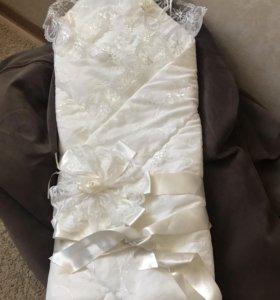 Продам конверт -одеяло на выписку
