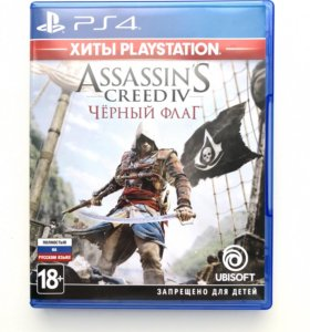 Assassin's Creed IV Black Flag, игра для PS4