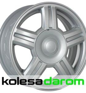 КиК Торус 5.5x14/4x98 D58.5 ET35 Silver