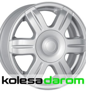 КиК КС670 (15_Largus) 6x15/4x100 D60.1 ET50 Silver