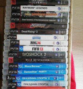 Игры на PS3 (350р. за шт.)
