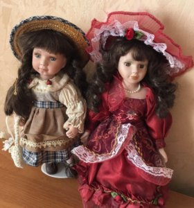 Куклы на подставке