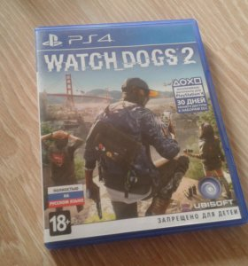 Watch Dogs 2 PS4 playstation 4