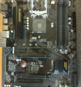 Игровая сборка Gigabyte H270+i5 6400+16Gb+кулер