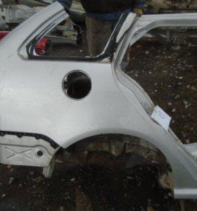 Крыло заднее правое  Шкода Фабиа 1999-2007.  6Y9809030