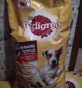 Корм Pedigree для собак мелких пород