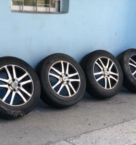 Комплект зимних колёс на Lada Largus