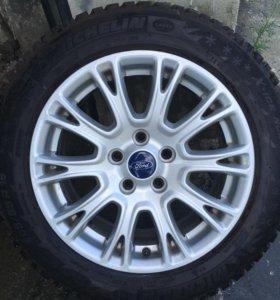 Диски с резиной форд фокус R 16. 205/55/16.