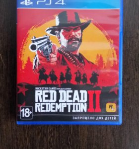 Игра Red Dead Redemption для PlayStation 4