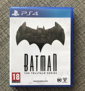 Batman. The telltale series. PS4