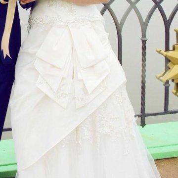 0643cdec626e772 Свадебное платье Benjamin Roberts – купить в Климовске, цена 17 000 ...