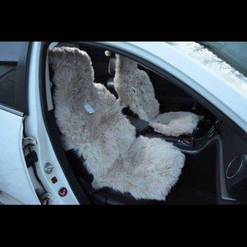 Меховые накидки на сиденья из овчины красноярск
