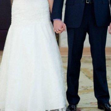 96627ba24e46eee Платье свадебное Artemida Papilio; Свадебное платье Bendjamin Roberts 44-46