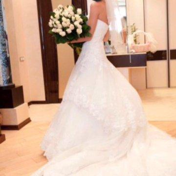 543ec962af138c7 Свадебное платье Anna Bogdan; Свадебное платье benjamin roberts.  Потрясающей кра