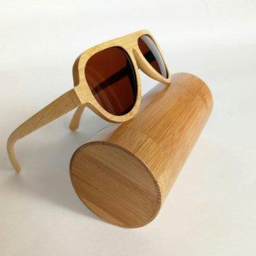 869f6cd5d18e Бамбуковые деревянные солнцезащитные очки Aviator – купить в Санкт ...